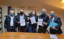 Signature officielle du Plan Filière spécifique au Petit Epeautre de Haute Provence !